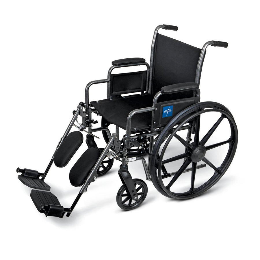 K1 Basic Extra-Wide Wheelchairs, Each