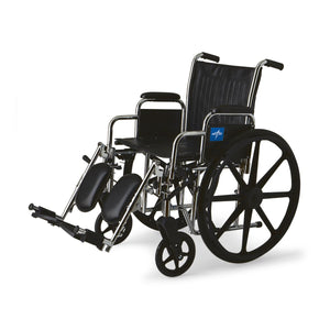 "2000 Wheelchairs, 20"", DLA, ELR, 300Lb. Each"