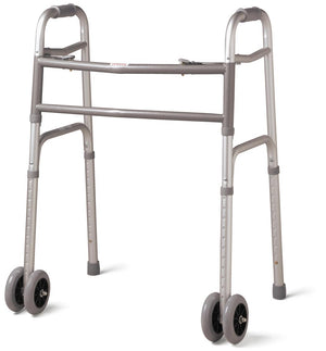 "Bariatric Folding Walkers,5"", Case of 1"