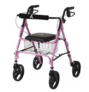 "Rollators with 8"" Wheels,Pink,8"", Case of 1"