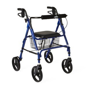 "Rollators with 8"" Wheels,Blue,8"", Each"