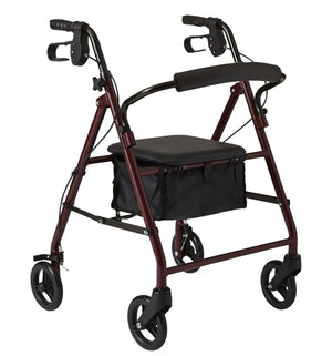 "Basic Rollators,Burgundy,6"", Each"