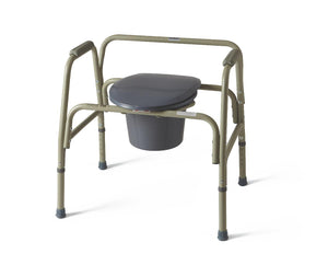 Steel Bariatric Commode, Each