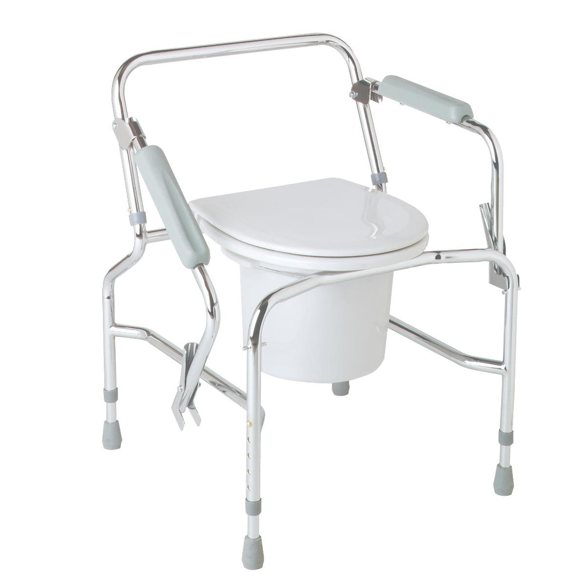 Steel Drop-Arm Commode, Each