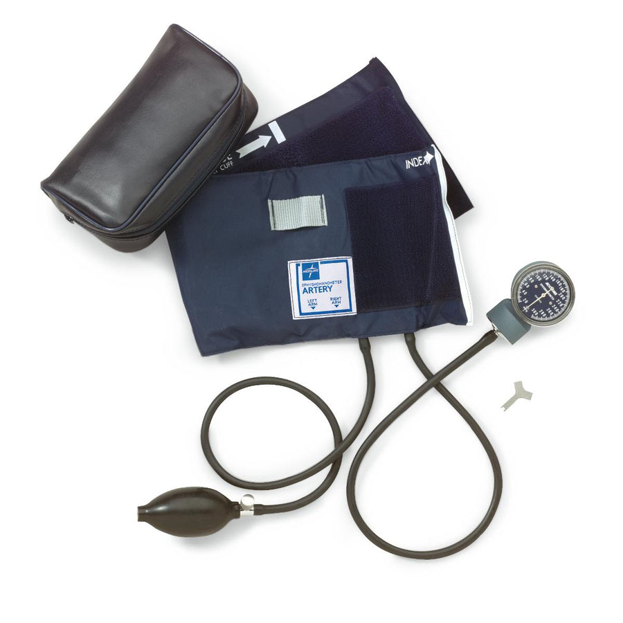 Medline Handheld Aneroid,Black,Child, Each