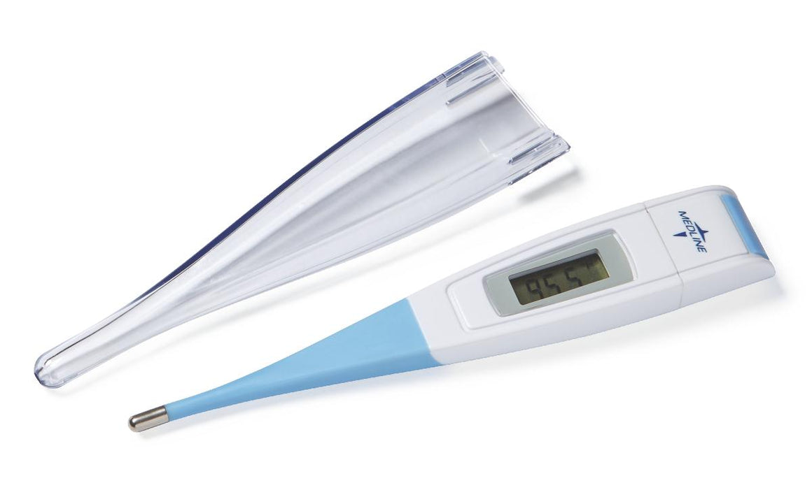 30-Second Flex-Tip Oral Digital Stick Thermometer,White, Each