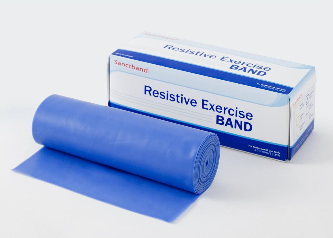 Exercise Bands by Sanctuary Health,Blueberry,6.000 YD, Each