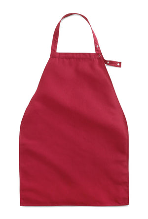 Apron Style Dignity Napkins with Snap Closure,Burgundy, Dozen