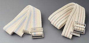 Washable Cotton Material Gait Belts,Multi-Color Pastel, Each