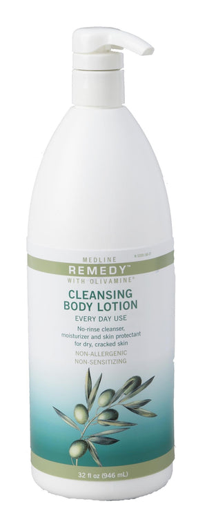 Remedy Olivamine Cleansing Body Lotion,32.000 OZ, Case of 12