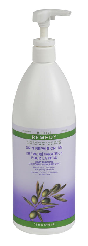 Remedy Olivamine Skin Repair Cream,Off White,32.00 OZ, Each