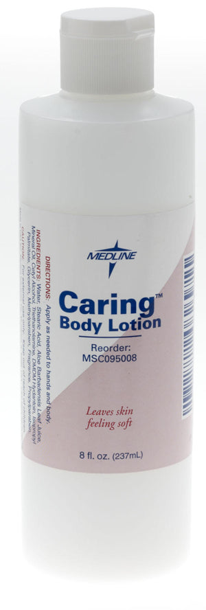 Caring Body Lotion,8.00 OZ, Each