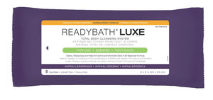 ReadyBath LUXE Total Body Cleansing Heavyweight Washcloths, 1 Pack