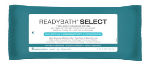 ReadyBath SELECT Medium Weight Cleansing Washcloths, Case of 30 Pack