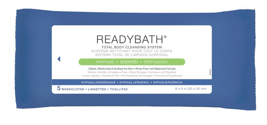 ReadyBath Complete Washcloths, Case of 30 Pack