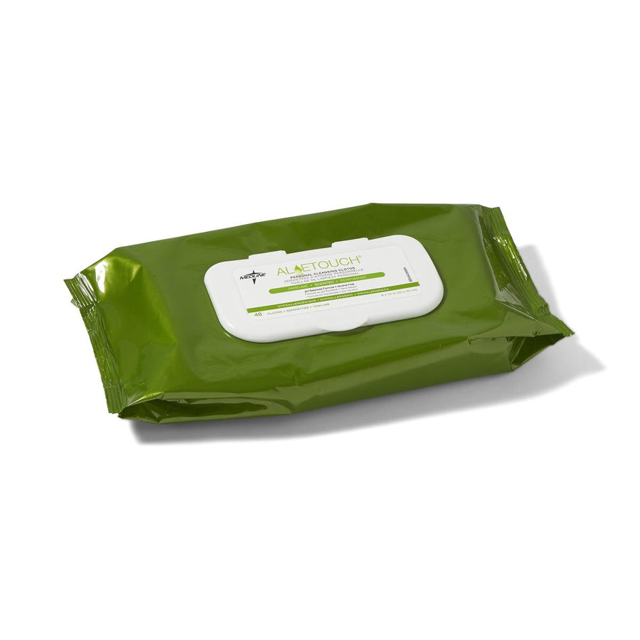 Aloetouch Personal Fragrance free Cleansing Wipes