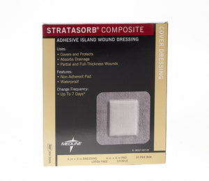 Stratasorb Composite Dressings, Box of 10