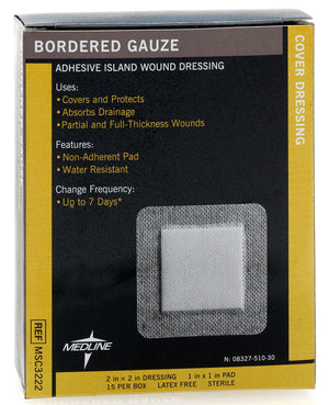 Sterile Bordered Gauze, Box of 15