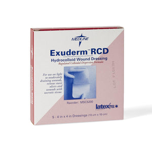 Exuderm RCD Hydrocolloid, Box of 5