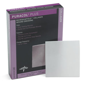 Puracol Plus Collagen Dressings, Case of 50