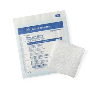 Woven Sterile Gauze Sponges, Box of 100