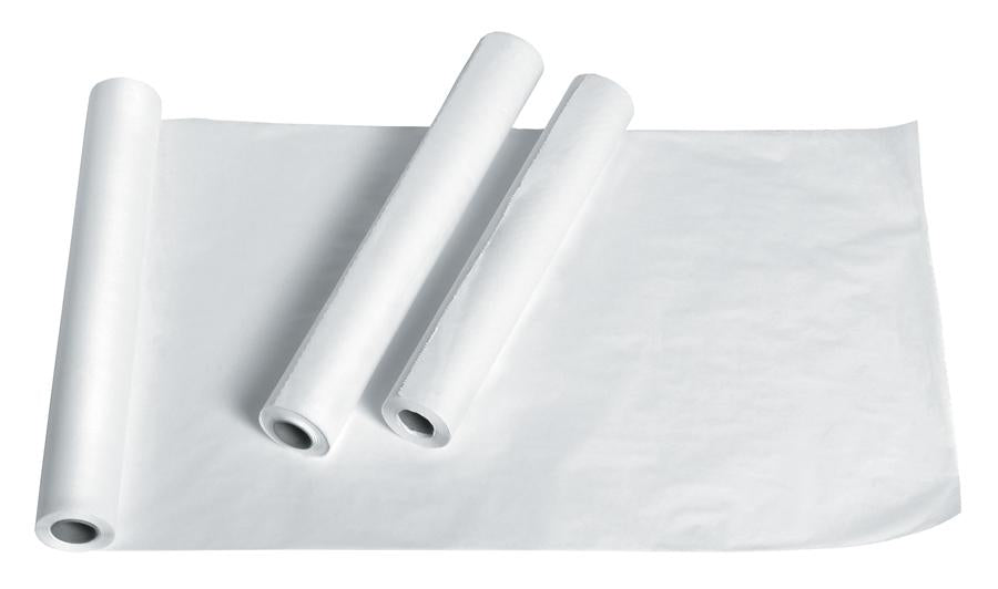 Deluxe Smooth Exam Table Paper, Case of 12 Roll Width: 18""