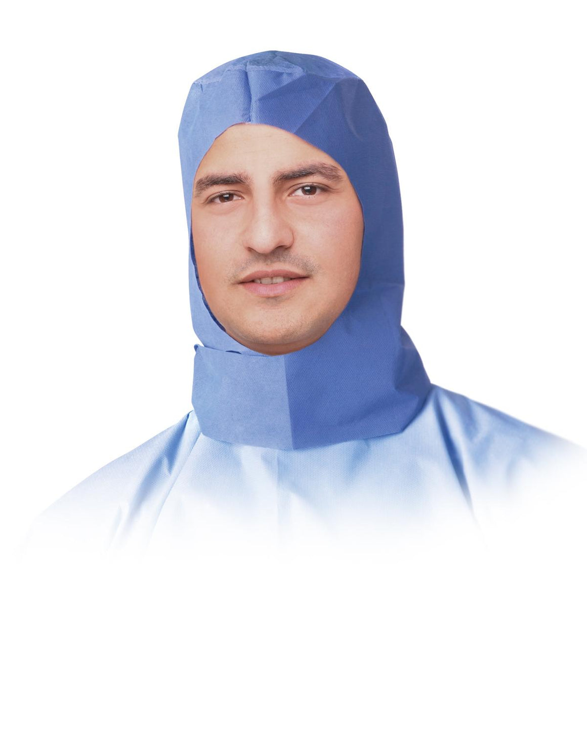 Surgeon Hoods,Blue,One Size Fits Most, Case of 300