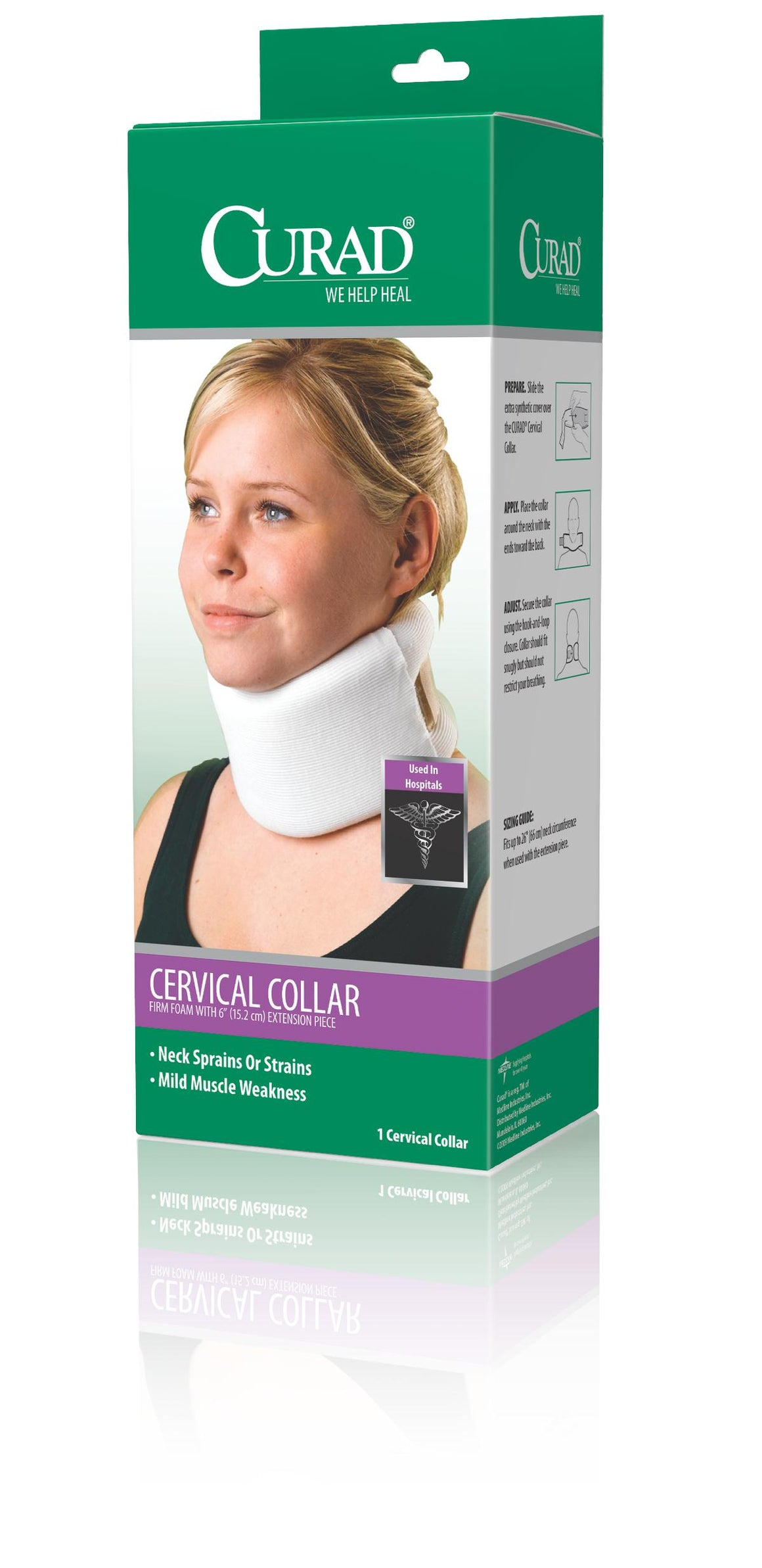 CURAD Cervical Collars,Universal, Each
