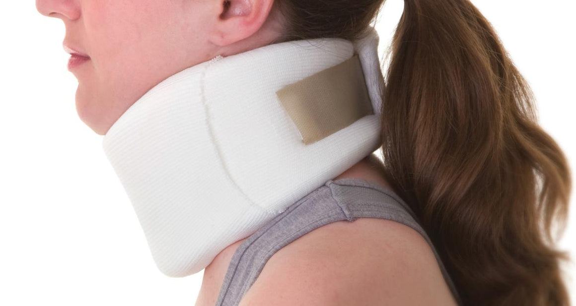 Serpentine style Cervical Collars,Large, Each