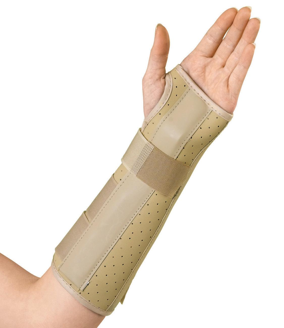 Vinyl Wrist and Forearm Splints,Large, Each