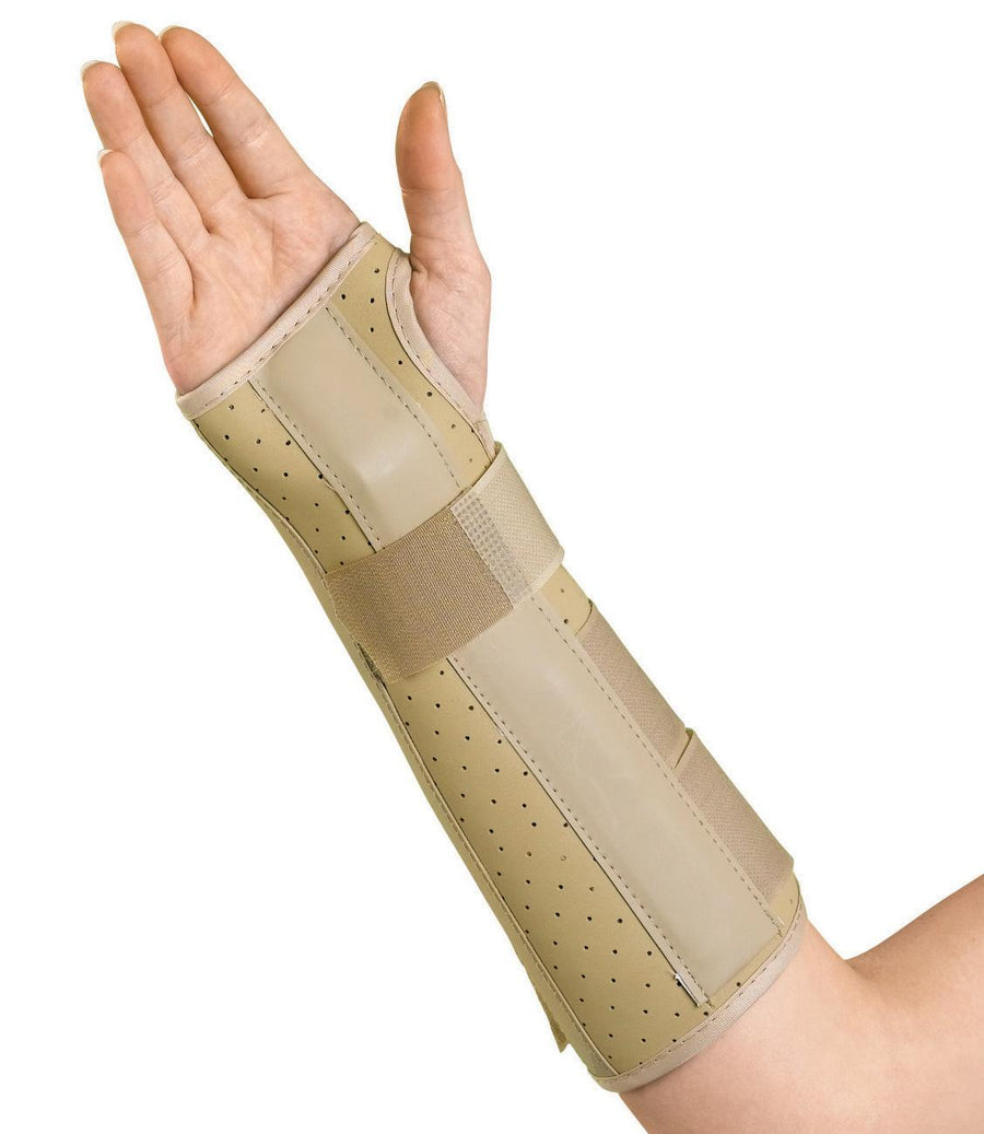Vinyl Wrist and Forearm Splints,Small, Each