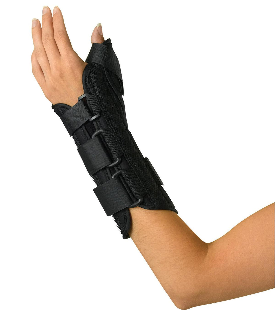 Wrist and Forearm Splint with Abducted Thumb,Medium, LEFT Each