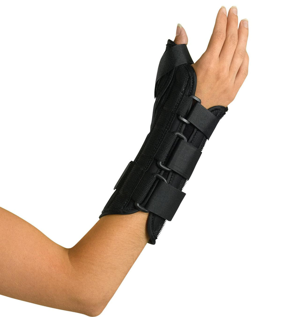 Wrist and Forearm Splint with Abducted Thumb,Large, Each