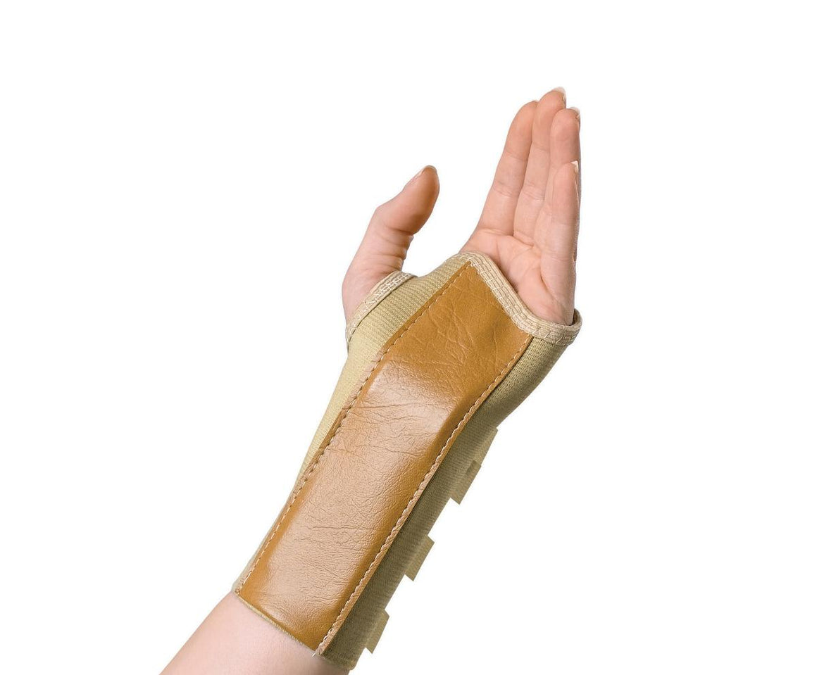 Elastic Wrist Splints,Large, Each