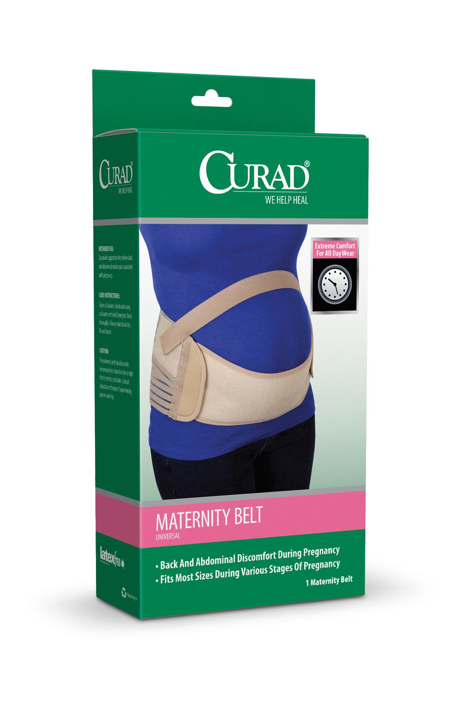 CURAD Maternity Belts,Regular, Case of 4