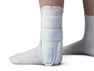 Foam Stirrup Ankle Splints,White,Universal, Each