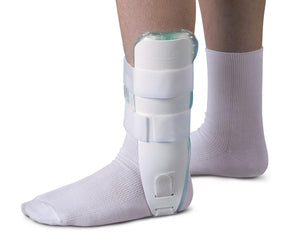 Air and Foam Stirrup  Ankle Splints,White,Universal, Each