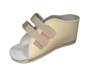 Hook and Loop Post-Op Shoes,Beige,Large, Each