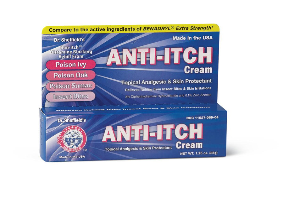 Anti-Itch Allergy Cream, Each
