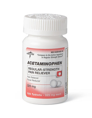Acetaminophen Regular Strength Tablets, Each