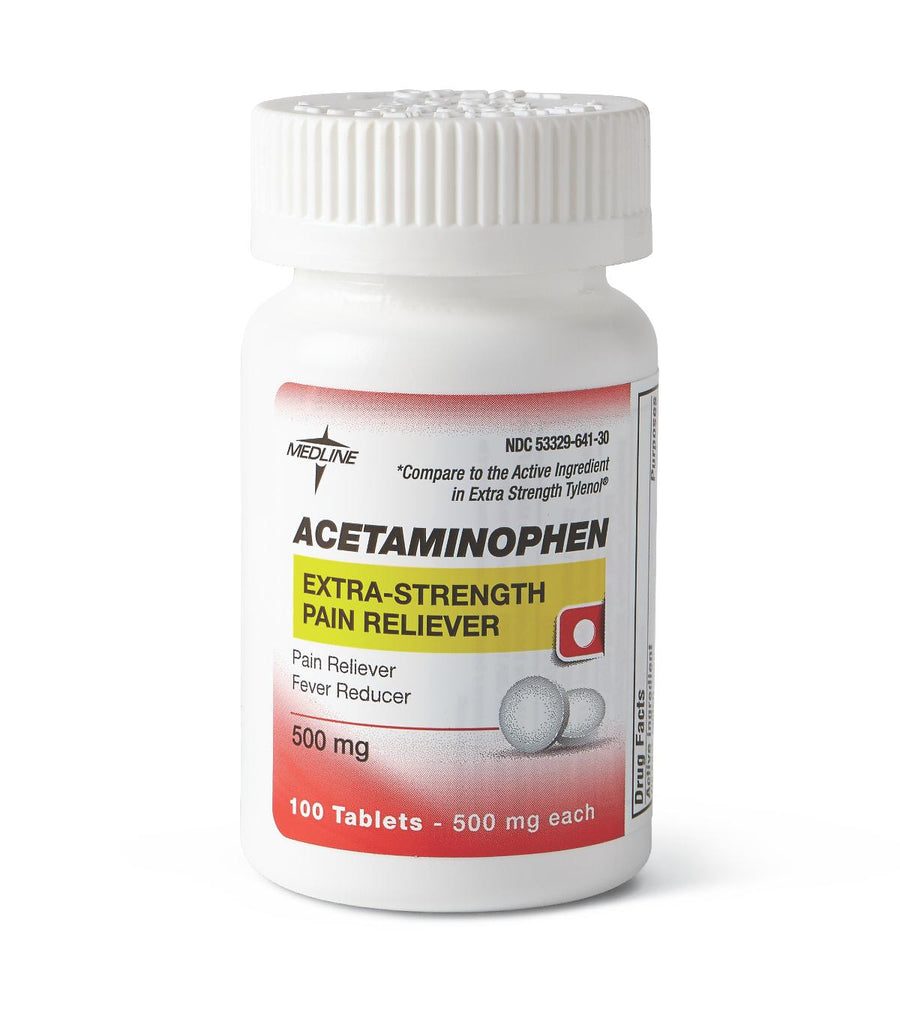 Acetaminophen Extra Strength Tablets, Each