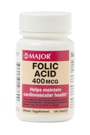 Folic Acid Oral (OTC), Each