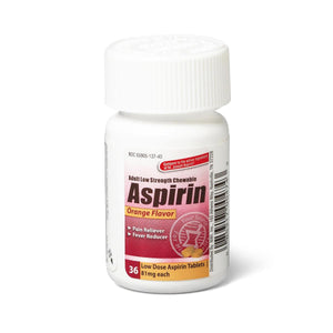 Aspirin Chewable Tablets, Each