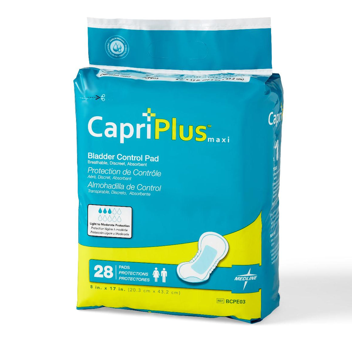 Capri Plus Bladder Control Pads