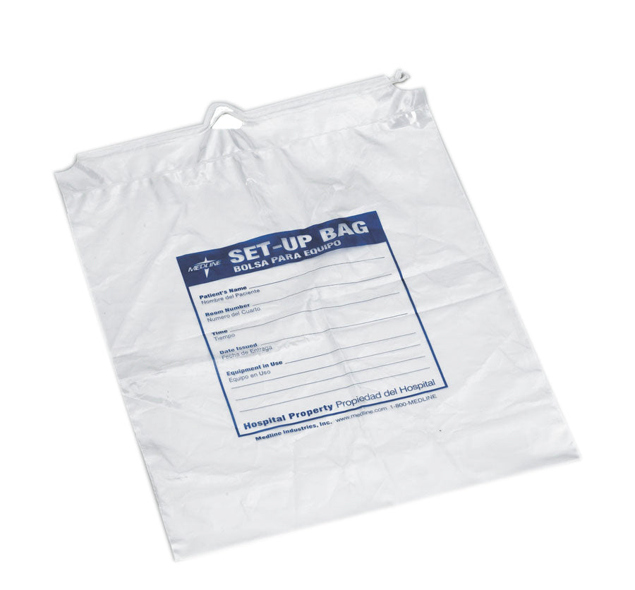 Respiratory Patient Set-Up Bag, Case of 500