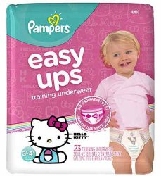 Pampers Easy Ups Absorbent Pull On Disposable Youth Training Pants
