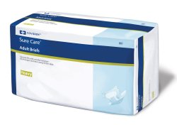Sure Care Absorbent Disposable Adult Incontinent Brief Tab Closure