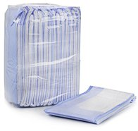 McKesson Ultra Lite Disposable Fluff / Polymer Absorbent Underpad