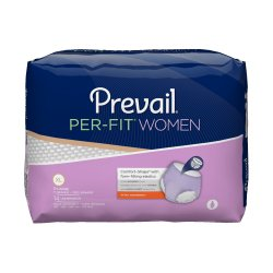 Prevail¨ Per-Fit¨ Women Pull On Disposable Adult Absorbent Underwear