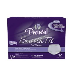 Prevail SmoothFit Absorbent Disposable Pull On Adult Underwear